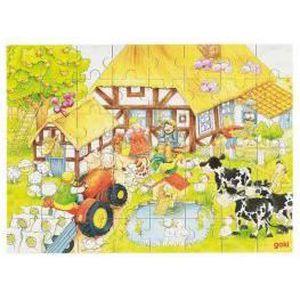 PUZZLE Puzzle Ferme De Grand-Papa Et Grand-Maman…