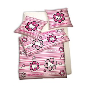 Couette hello kitty achat vente couette hello kitty - Housse de couette hello kitty 140x200 ...