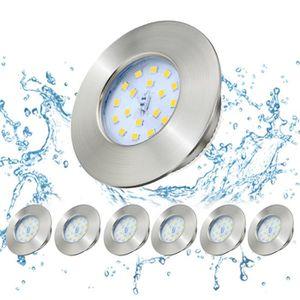SPOTS - LIGNE DE SPOTS 6 x LED Encastrables Kimjo Spots 5W Blanc Neutre 4