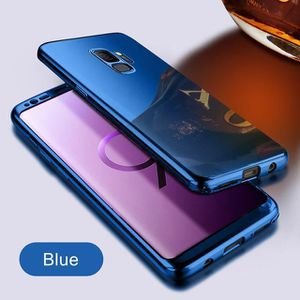 Coque compatible Samsung galaxy S8( EDGE) métal miroir or rose métal miroir or rose bumper métal fond polycarbonate