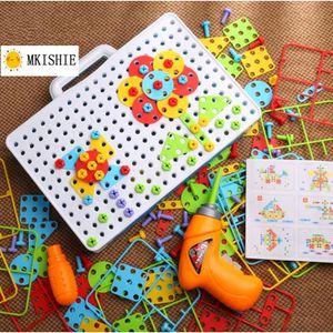 JEU DE MOSAIQUE  Mosaique Enfant Puzzle 3D Construction Enfant Jeu