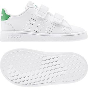 BASKET ADIDAS Baskets ADVANTAGE I - Enfant - Blanc/Vert