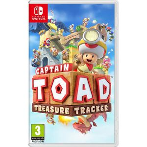 JEU NINTENDO SWITCH Captain Toad Treasure Tracker Switch + 1 Mochi Squ