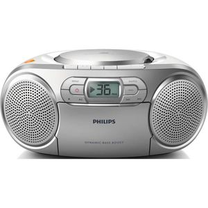 BALADEUR CD - CASSETTE PHILIPS AZ127/12 Lecteur CD avec amplification dyn