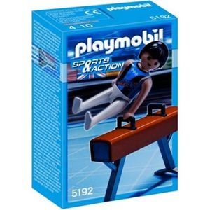 UNIVERS MINIATURE Playmobil Gymnaste Et Cheval-D'arçons