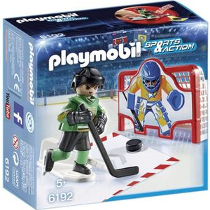 UNIVERS MINIATURE PLAYMOBIL 6192 - Sports & Action - Joueur de Hocke