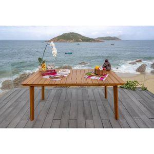 TABLE DE JARDIN  Meuble de jardin - Table de jardin rectangulaire -