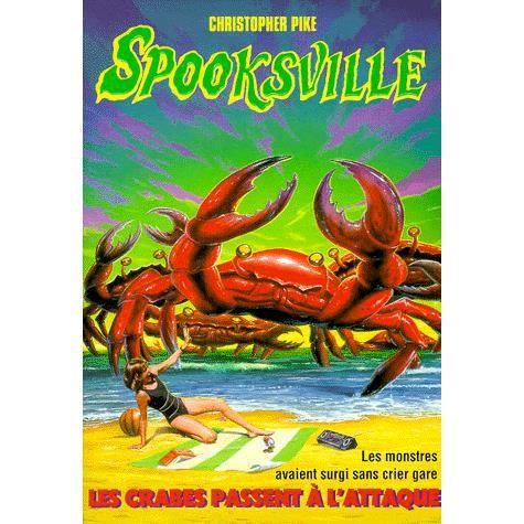 Couverture de Spookville t.18 les crabes passent a l'attaque
