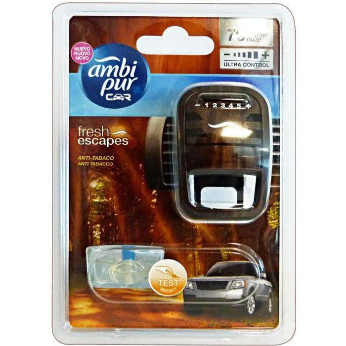 AMBI PUR voiture de base anti-tabac Déodorant Accessoires Voitures et Motos