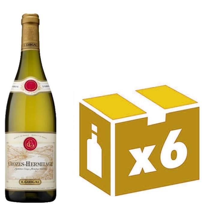 Crozes Hermitage vin blanc 6x75cl Guigal