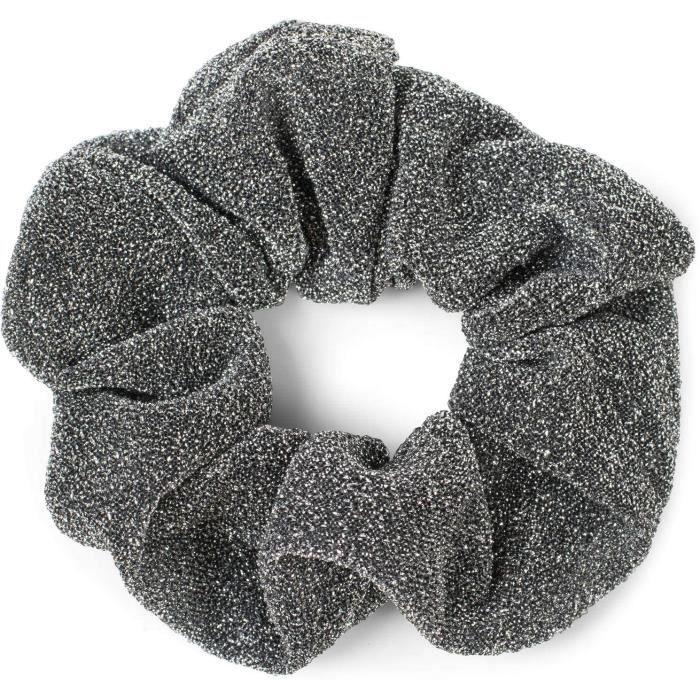 Elastiques à cheveux styleBREAKER élastique-XXL à paillettes pour femmes de style rétro, élastique, chouchou, élastique 180237