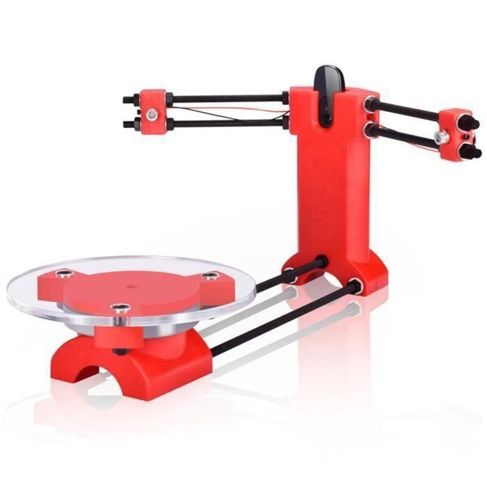 Source d'Ouvrir DIY Scanner 3D Scanner Tridimensionnel Moulage Par Injection Ordinateur De PiÈCes En Plastique Pour Reprap