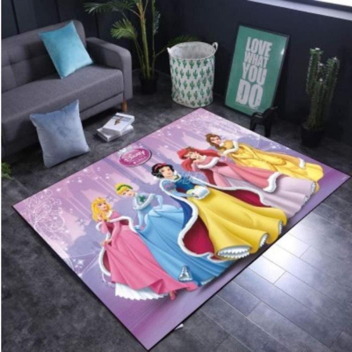 Tapis Zone Salon Dessin Anim&eacute Disney Princesse D&eacutecoration Tapis De Jeu pour Enfants Personnalit&eacute Cr&eacute624