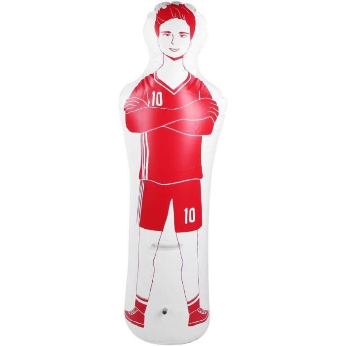 Cosiki Sac de Frappe, Mannequin de Football de Boxe en PVC, Sac de Frappe Gonflable d'entra&icircnement de Football Mannequ[464]