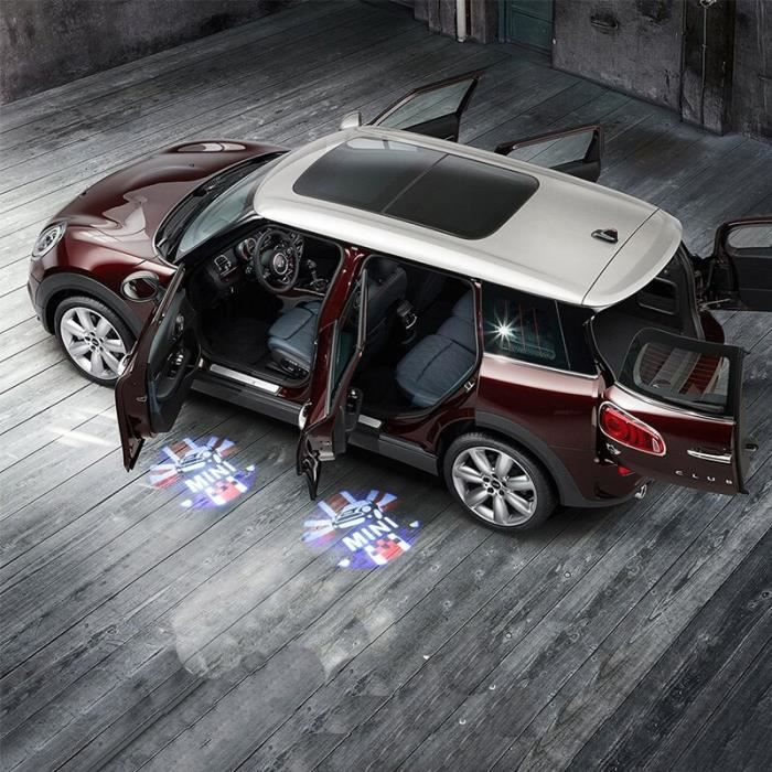 Porte de voiture Led lampe de Projection Laser bienvenue lumière pour BMW MINI COOPER JCW F54 F55 F56 F60 R56 R60 CLUBMA LX16054