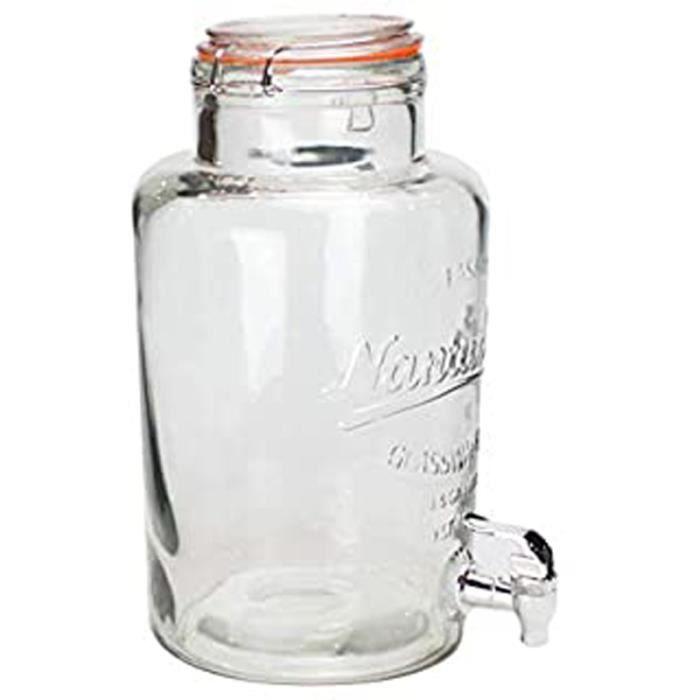 Fontaine À Cocktail En Verre 6 L