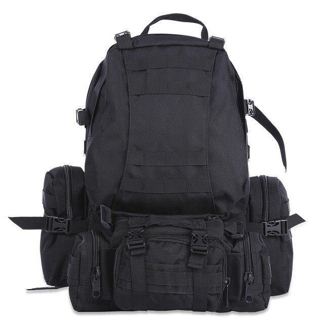 Sac à dos tactique militaire étanche Molle de 50l, sac à dos de sport pour Camping randonnée voyage [BC71B3D]