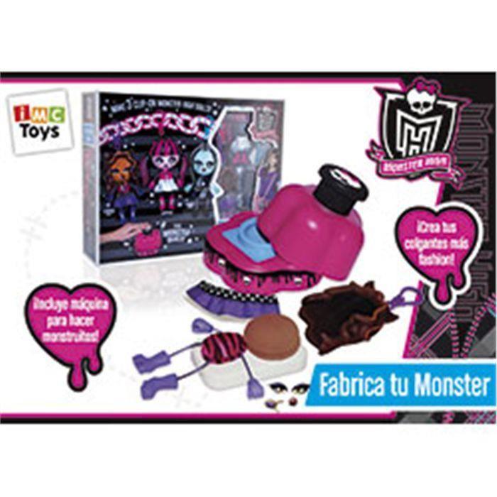 Construisez votre monstre, Monster High