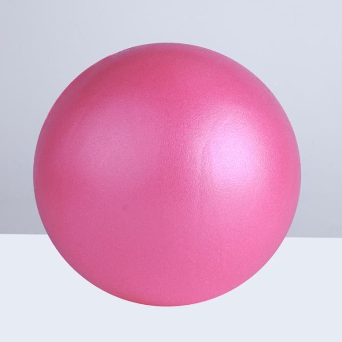 Balle de Yoga Pilates Petite d'exercice pour les Entraînités tapis de sol - tapis de gym - tapis de yoga fitness - musculation