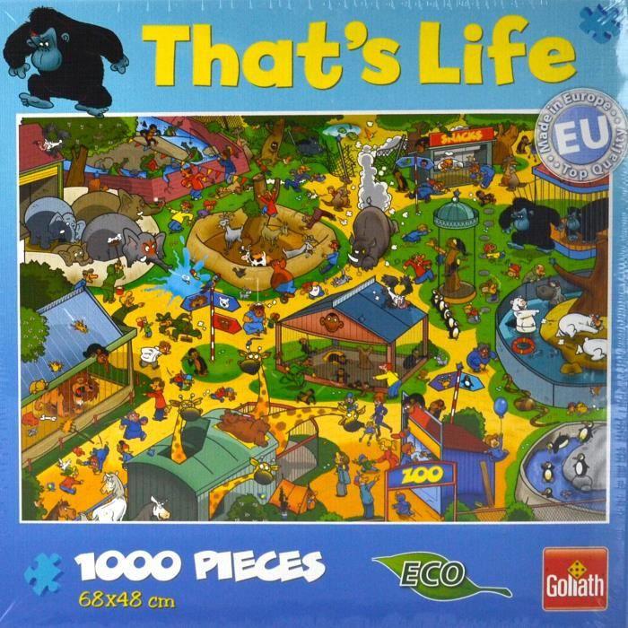 Puzzle 1000 pièces That's Life : Au zoo