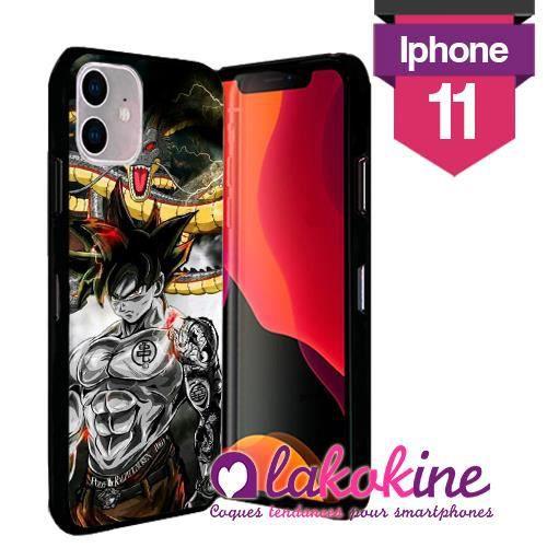 Coque Iphone 11 Silicone Dragon ball Gt