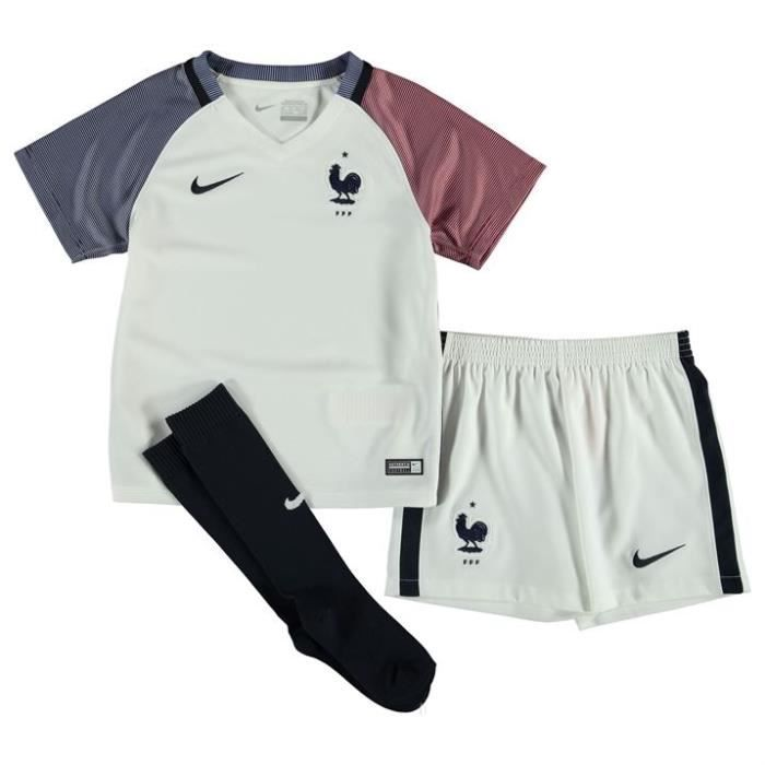 Mini-Kit Officiel Enfant Nike France Away Euro 2016