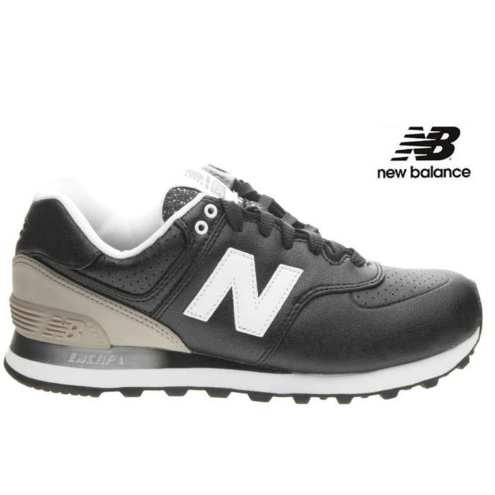 Baskets New Balance 574 Gradient Black WL574 RAA femme