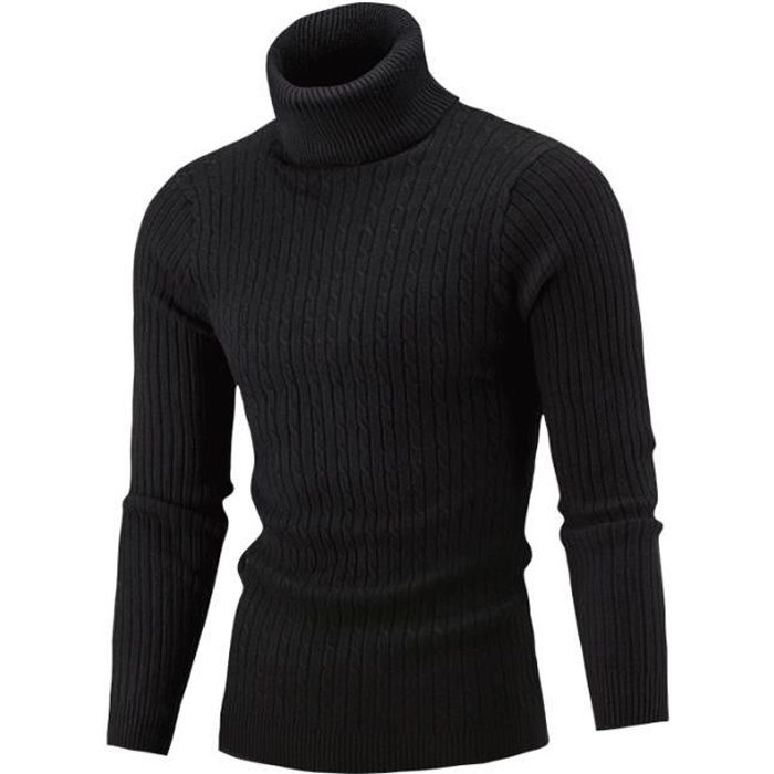 Pull homme Col roulé pull c L