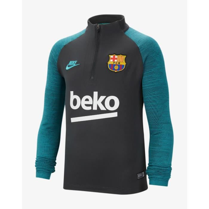 HAUT TRAINING JUNIOR NEWS FC BARCELONE NOIR 2019/20