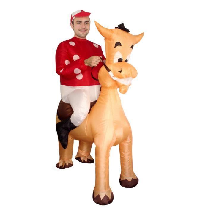 Costume gonflable Jockey U