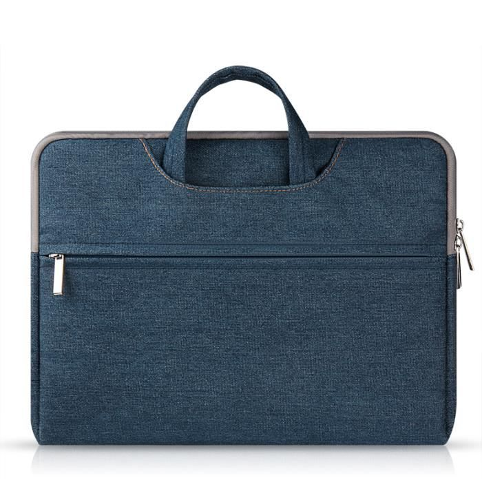 Bleu housse portable pour ordinateur portable macbook for Housse macbook air 11 pouces