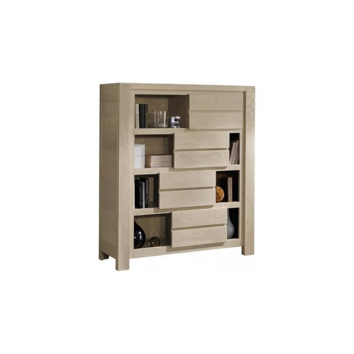 biblioth que ch ne gris 4 portes coulissantes achat. Black Bedroom Furniture Sets. Home Design Ideas