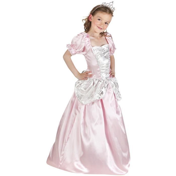 DÉGUISEMENT - PANOPLIE Déguisement de Lalie, la princesse rose