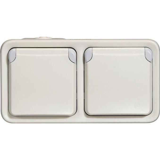 Legrand LEG69870 Plexo Prise de courant avec terre encastr/é Blanc