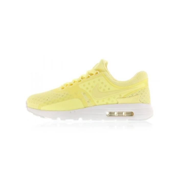 fashion new cheap delicate colors Basket NIKE NIKE AIR MAX ZERO BR - Age - ADULTE, Couleur - JAUNE ...