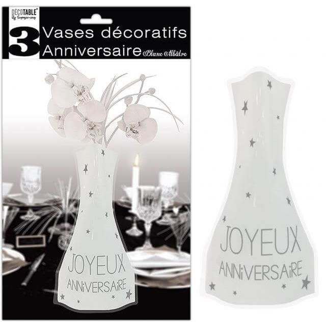 vase soliflore blanc achat vente vase soliflore blanc pas cher cdiscount. Black Bedroom Furniture Sets. Home Design Ideas