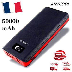 BATTERIE EXTERNE 50000mAh Batterie externe haute capacité Ecran LCD