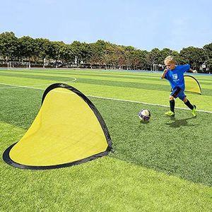 CAGE DE FOOTBALL 2 Minis But de football Pop Up Ensembles portables