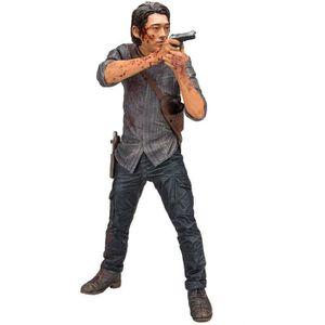 FIGURINE - PERSONNAGE Figurine Deluxe The Walking Dead TV Version : Glen