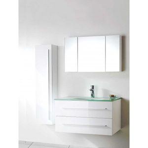 Meuble Simple Vasque en Verre, Salle de Bain Desig - Achat ...