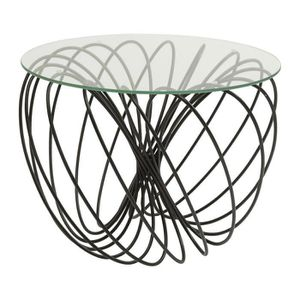TABLE D'APPOINT Table d appoint Wire Ball 45cm Kare Design