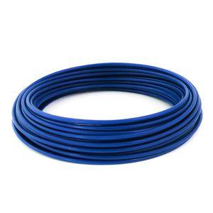 6 x 7 x 1- WURKO 12011008-Cable ACIER 3 mm galvanis/é bobine 100 m