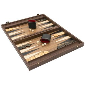 JEU SOCIÉTÉ - PLATEAU Manopoulos Deluxe Tournament - Set de Backgammon e