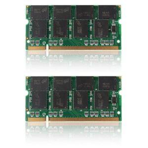 MÉMOIRE RAM SHAN NEUFU Lot de 2pcs 1 G GO GB Mémoire RAM DDR 3