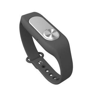 Système d'écoute Bracelet Micro espion Enregistreur 4Go Noir 20H d'