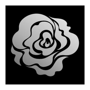 MIROIR Decorative miroir rose, 60 x 55 cm