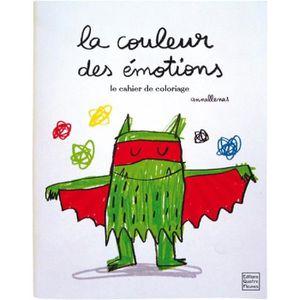 LIVRE 0-3 ANS ÉVEIL Livre - la couleur des émotions ; le cahier de col