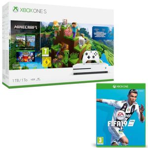 CONSOLE XBOX Xbox One S 1 To Minecraft + Fifa 19