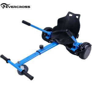 ACCESSOIRES GYROPODE - HOVERBOARD Evercross HoverKart Chaise Kart Bleu-Accessoire po