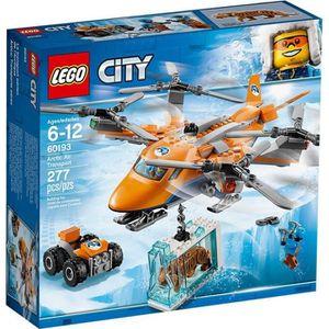 ASSEMBLAGE CONSTRUCTION LEGO® City 60193 L'Hélicoptère Arctique - Jeu de C
